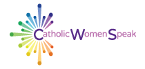 Catholic Women Speak Mobile Retina Logo