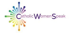 Catholic Women Speak Sticky Logo