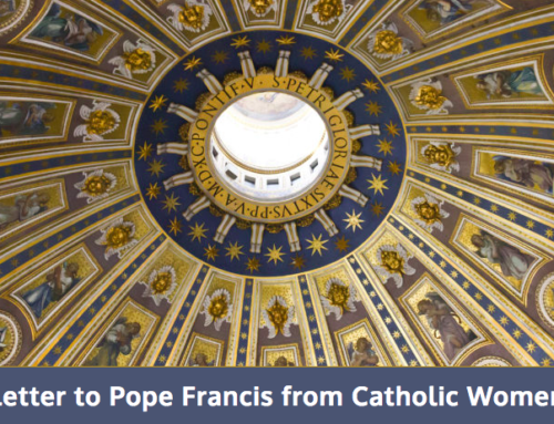 "Sharing Our Concerns About ""A Letter to Pope Francis from Catholic Women"""