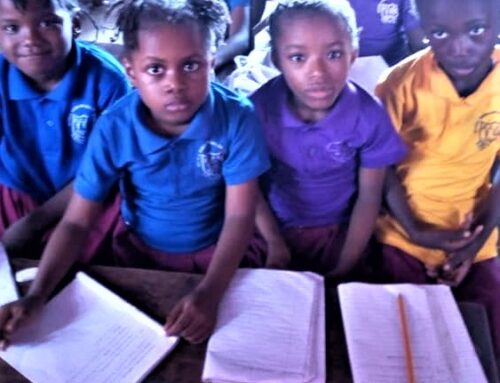 CWS supports a School and Day Care Centre in Sierra Leone